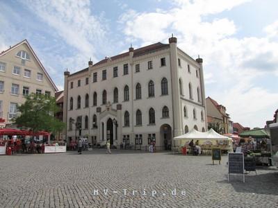 Neues Rathaus Waren (Müritz)