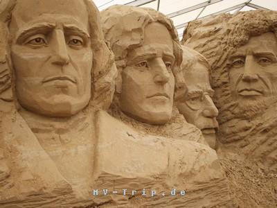Sandskulpturen Festival Usedom