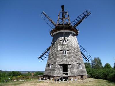 die Windmühle in Benz