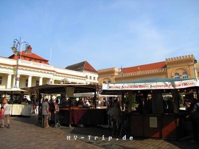der Winzermarkt in Schwerin
